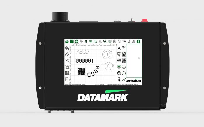 Touch screen controller datamark mp-80 marking machine
