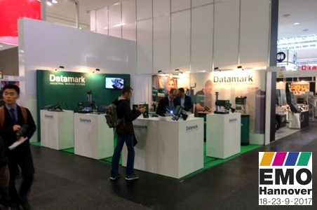 Datamark marking systems stand at EMO Hannover 2017