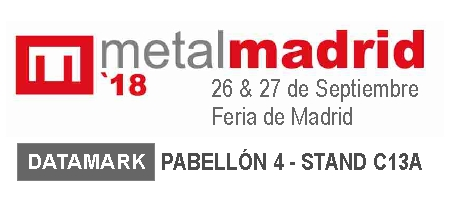 Datamark Marking Systems Exhibiting at MetalMadrid 2018