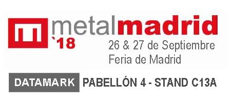 Marcadoras Datamark en Metalmadrid 2018