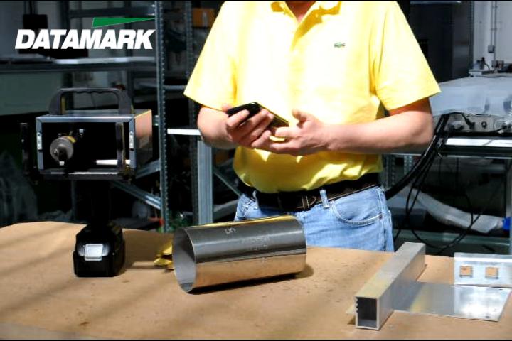 Tragbare Punktmarkierungsmaschine