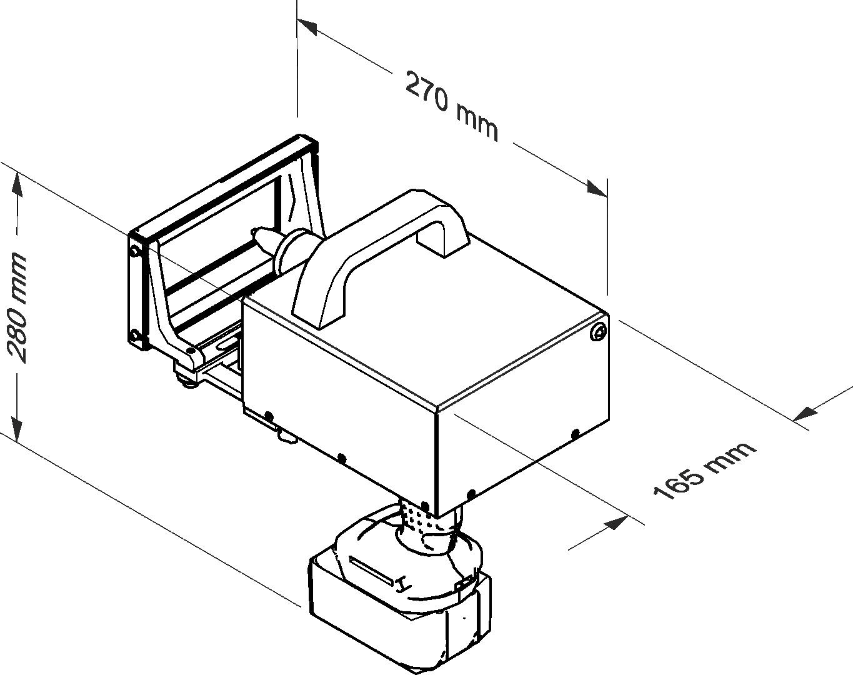 Portable dot peen marker Datamark MP-100