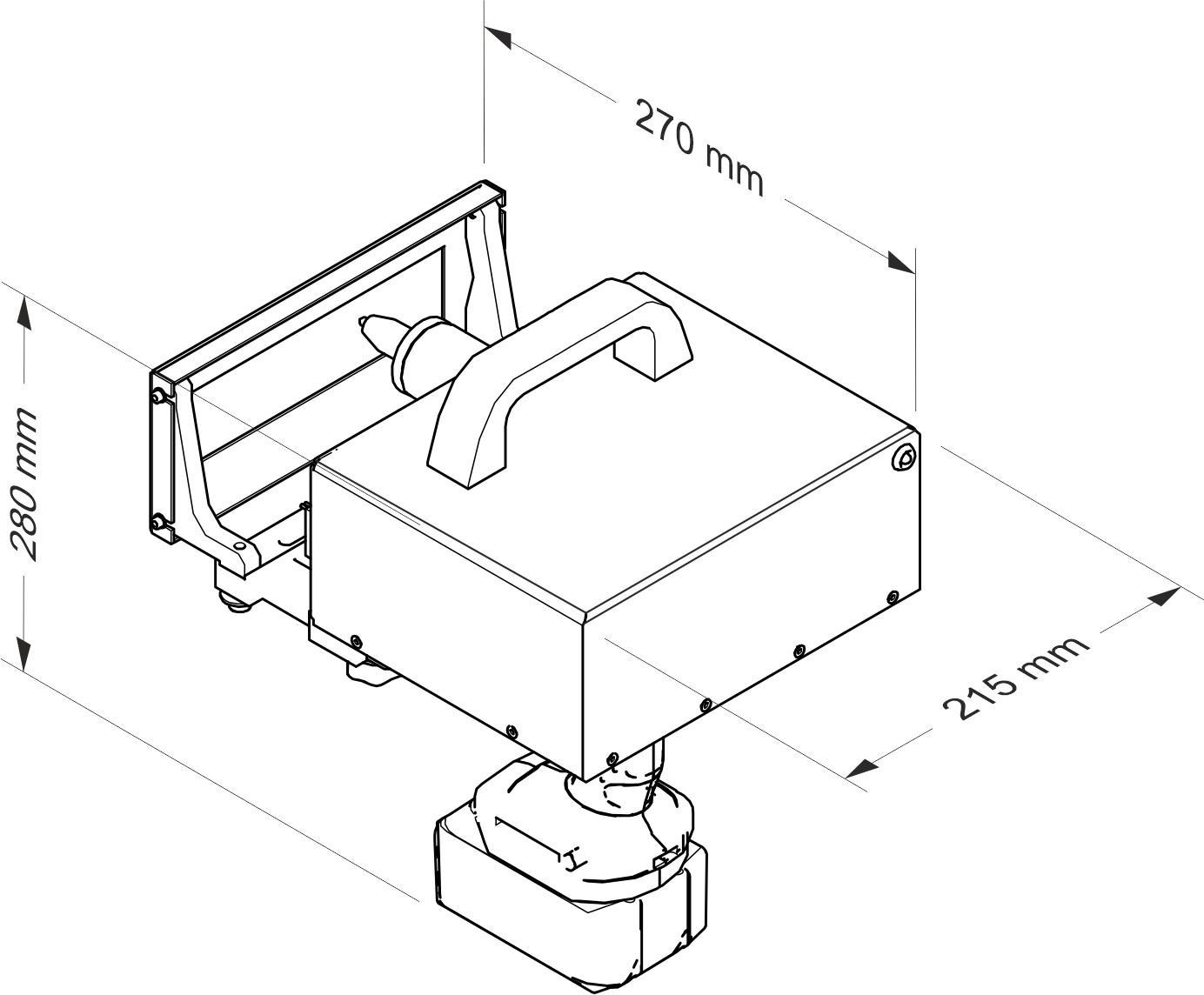Datamark MP-150 Mobile marker