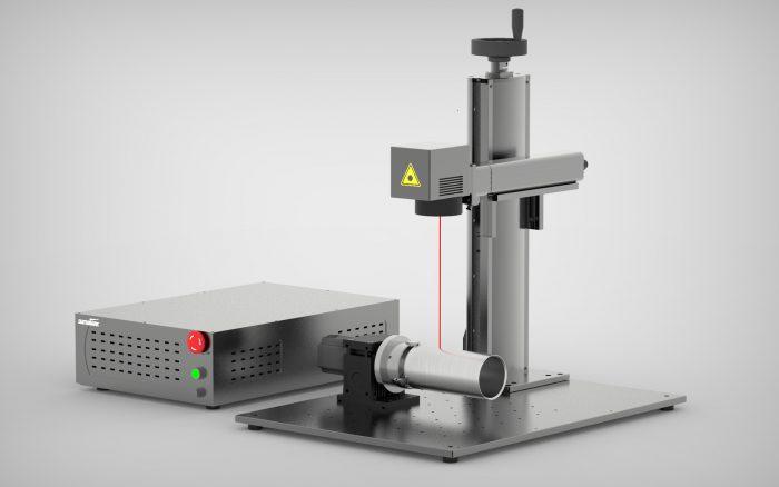 Fiber Laser marking machine for marking in metal