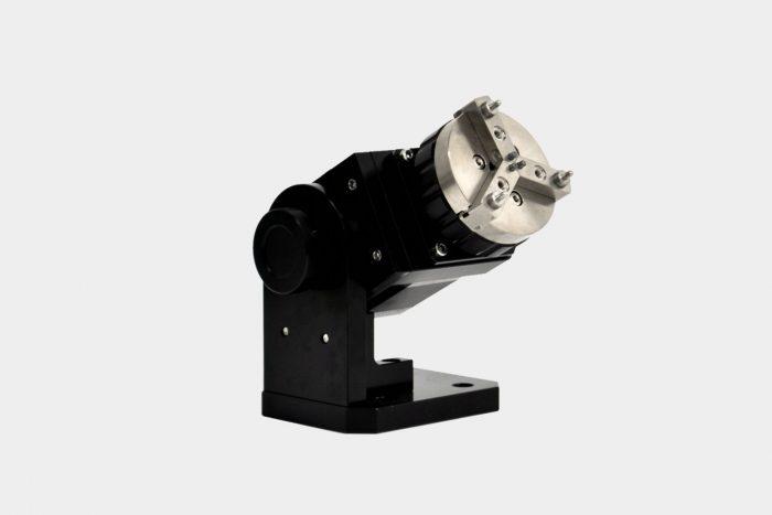 Rotorvorrichtung zur zylindrischen Laserbeschriftung
