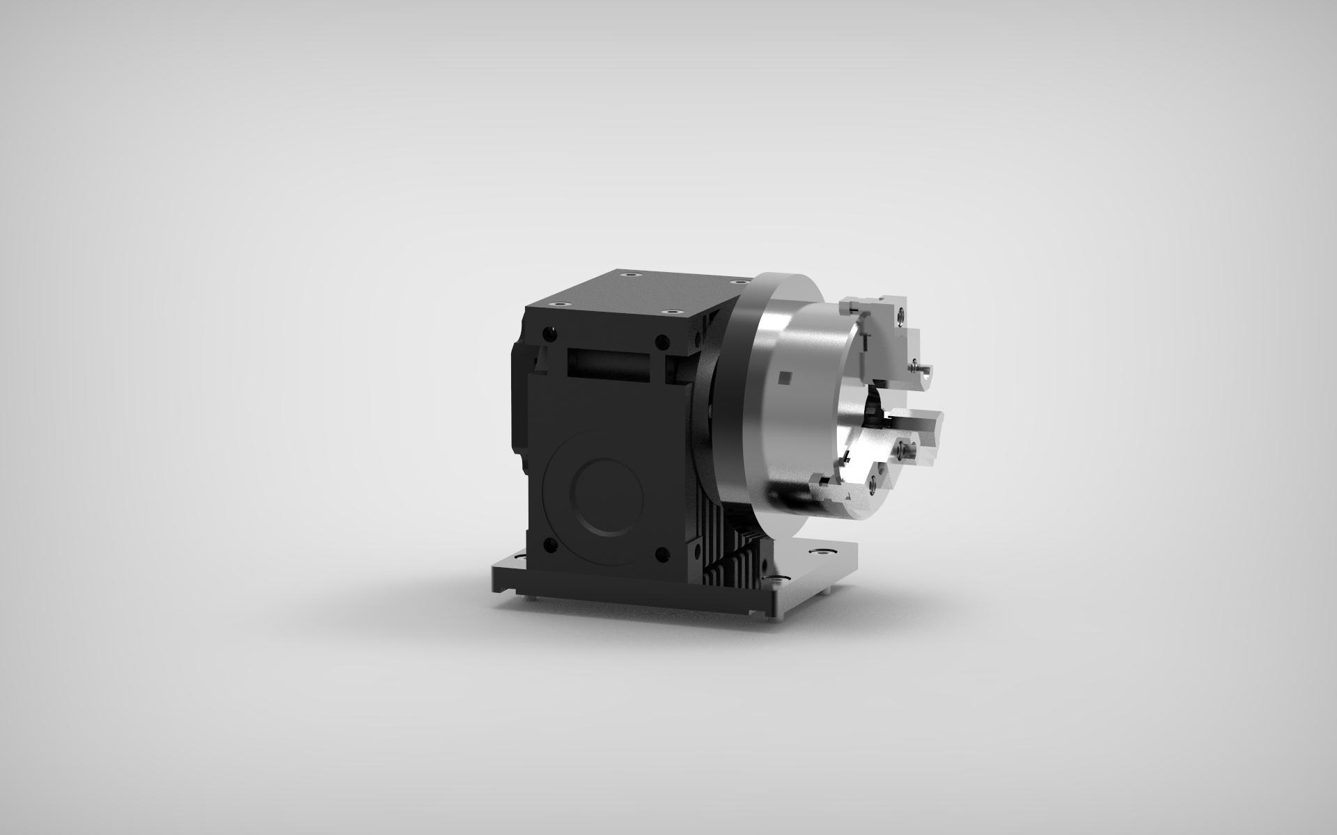 Dispositivo rotor para marcação a laser cilíndrica