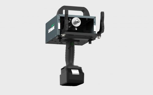 Dot peen marking machine fully portable