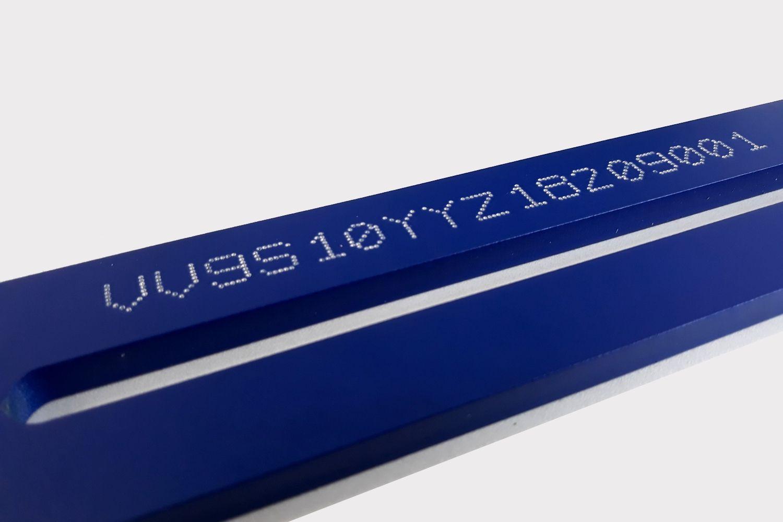VIN numbers marking